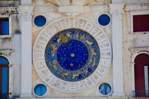 zodiac signs on a wall