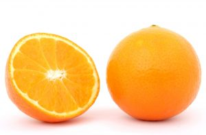 Oranges with pulp