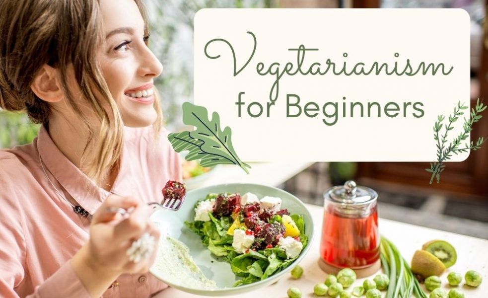 Vegetarian for Beginners cover image
