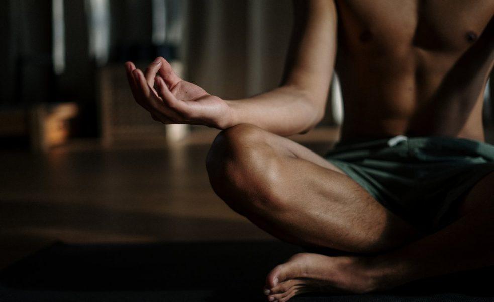 man-doing-yoga