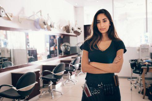 beauty salon owner